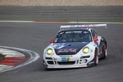 #18 Team Rowe Motorsport Porsche GT3 Cup S: Michael Zehe, Marco Schelp, Alexander Roloff