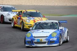 #46 Lammertink Racing avec Toyo Tires Porsche 997 GT3 Cup: Tom Coronel, Duncan Huisman, Kikuchi Yasu