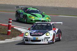 #18 Team Rowe Motorsport Porsche GT3 Cup S: Michael Zehe, Marco Schelp,Alexander Roloff