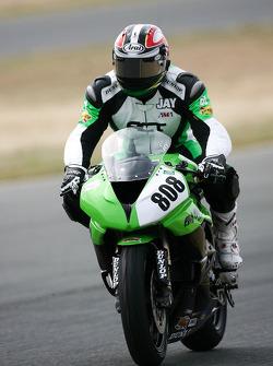 Jay J. Ruess Ruess Racing Kawasaki ZX-R