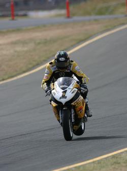 Danny Eslick GEICO Powersports, RMR, Suzuki Suzuki GSX-R