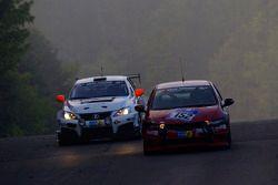 #152 Honda Civic Type-R: Frank Kuhlmann, Dino Drössiger, Mark Giesbrecht, Bruce Trenery