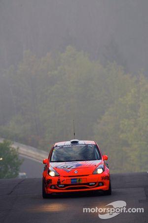 #151 MSC Adenau Renault Clio: Karl-Heinz Teichmann, Michael Schneider, Lutz Rühl