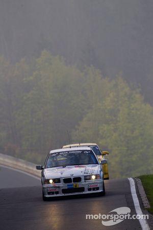 #206 Bonk Motorsport BMW 318is: Wolf Silvester, Mario Merten