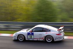 #11 Porsche AG Porsche GT3 RS: Patrick Simon, Horst von Saurma, Rolen Asch, Chris Harris