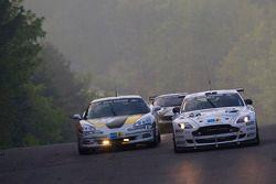 #63 Chevrolet Corvette: Tobias Guttroff, Jens Richter, Arno Klasen, Christian Hohenadel, #66 Aston M