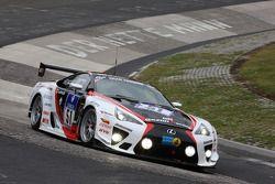 #51 Gazoo Racing Toyota Lexus LF-A: Armin Hahne, Jochen Krumbach, Andre Lotterer, Akira Iida