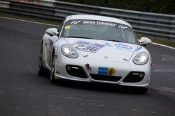 #236 Team DMV Porsche Cayman S: Ivan Jacoma, Nicola Bravetti, Matteo Cassina, Andre Krumbach