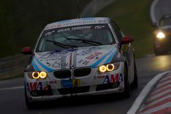 #129 Bergischer Motor Club im ADAC BMW 325i E92: Damian Fineschi, Juan Jose Garriz, Juan Cusano, Sergio Rodriguez