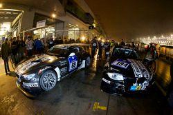 #69 Dörr Motorsport BMW Z4 GT3 and #194 Dörr Motorsport BMW 135d: Kristian Vetter, Heiko Hahn, Simon Englerth, Frank Weishar