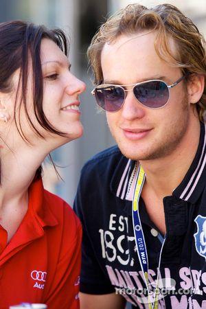 Katherine Legge, Audi Sport Team Rosberg et Peter Terting