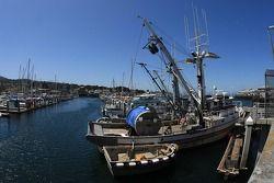 Fishing boat at Monterey Wharf