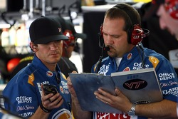 Darian Grubb, crew chief for Tony Stewart, Stewart-Haas Racing Chevrolet