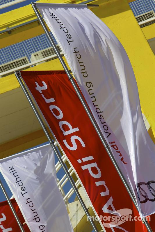 Audi Sport vlaggen