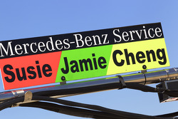 Panneau pour Susie Stoddart, Persson Motorsport, Jamie Green, Persson Motorsport et Congfu Cheng, Pe