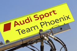 Panneau pourAlexandre Prémat, Audi Sport Team Phoenix et Mike Rockenfeller, Audi Sport Team Phoenix