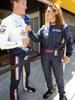 David Coulthard, Mücke Motorsport interviewé par Christina Surer