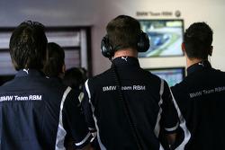 BMW Team RBM mécaniciens