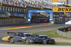 Bruno Spengler, Team HWA AMG Mercedes C-Klasse et Timo Scheider, Audi Sport Team Abt Audi A4 DTM