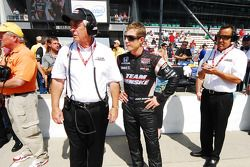 Roger Penske and Ryan Briscoe, Team Penske