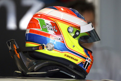 Casque de Paul di Resta, Team HWA AMG Mercedes
