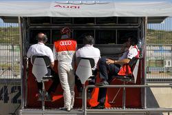 Dr. Wolfgang Ullrich, Timo Scheider, Audi Sport Team Abt, Hans-JuÃàrgen Abt