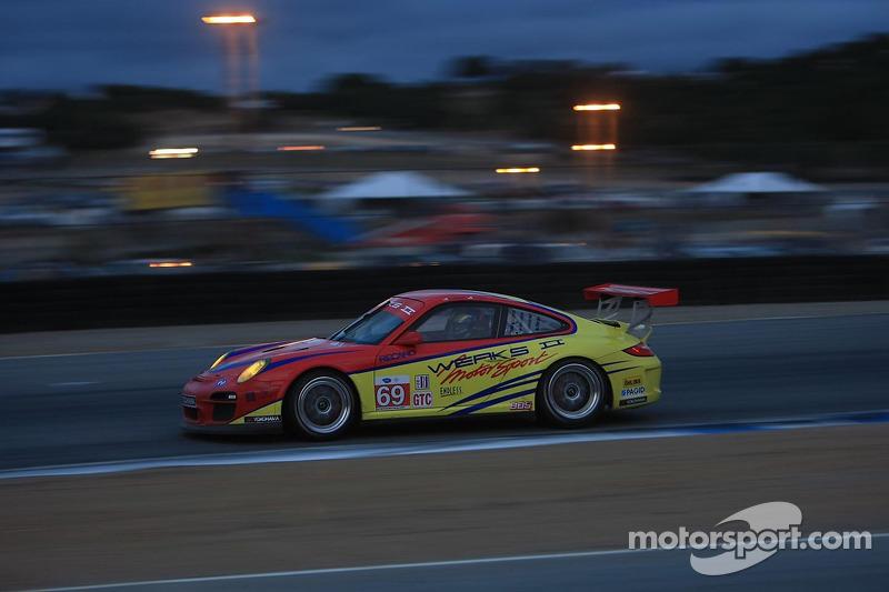 #69 WERKS II Racing Porsche 911 GT3 Cup: Robert Rodriquez, Galen Bieker, Chris Wilson