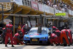 Pitstop Alexandre Prémat, Audi Sport Team Phoenix Audi A4 DTM