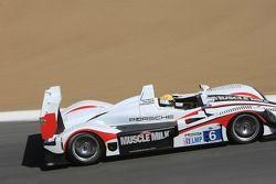 #6 Team Cytosport Porsche RS Spyder: Memo Gidley, Klaus Graf, Sascha Maassen