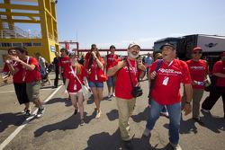 des fans de Miguel Molina, Audi Sport Rookie Team Abt