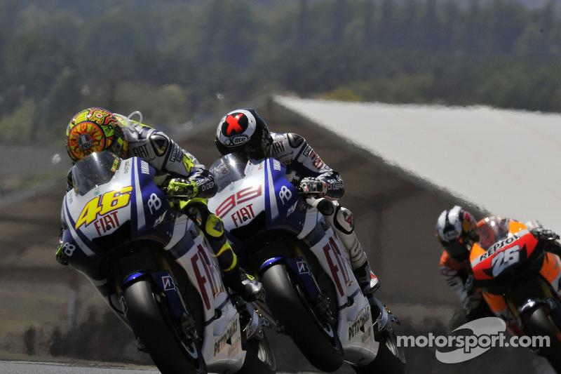 GP de Francia 2010 - Victoria de Lorenzo por delante de Rossi