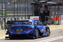 Alexandre Prémat, Audi Sport Team Phoenix Audi A4 DTM en direction de la grille de départ