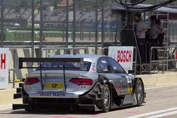 Miguel Molina, Audi Sport Rookie Team Abt Audi A4 DTM en direction de la grille de départ
