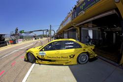 David Coulthard, Mücke Motorsport AMG Mercedes C-Klasse en direction de la grille de départ