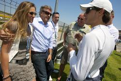 Bruno Spengler, Team HWA AMG Mercedes avec des invités