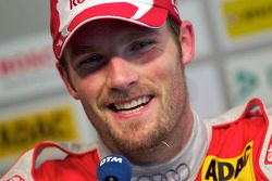 Post-race press conference: second place Martin Tomczyk, Audi Sport Team Abt