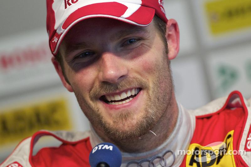 Persconferentie: 2de Martin Tomczyk, Audi Sport Team Abt