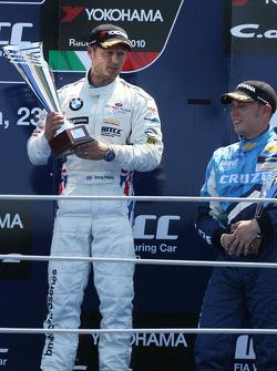 Podium: 2e Augusto Farfus, BMW Team RBM