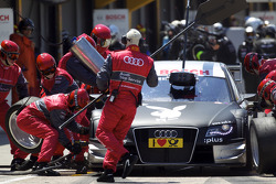 Arrêt pour Markus Winkelhock, Audi Sport Team Rosberg Audi A4 DTM