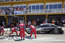 Arrêt pour Timo Scheider, Audi Sport Team Abt Audi A4 DTM