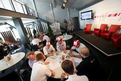L'évènement Audi Sport «Meet the drivers»