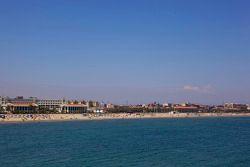 Malvarrosa beach at Valencia