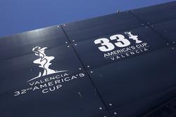 America Cup house dans le port de Valence