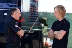 Franz Tost, Scuderia Toro Rosso y Brendon Hartley, Red Bull, piloto reserva