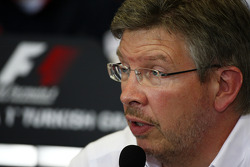 Ross Brawn, director de equipo, Mercedes GP