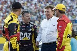 Clint Bowyer, Richard Childress Racing Chevrolet, Jeff Burton, Richard Childress Racing Chevrolet, K