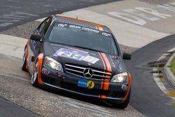 #214 Team AutoArenA Motorsport Mercedes Benz C230: Frank Hempel, Hannes Pfledderer, Gunther Stecher, Werner Gusenbauer