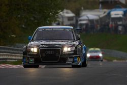 #71 Kiwi Team Nürburgring Audi RS4: Andy Booth, Alistair Taylor, Stuart Owers, Lewis Scott