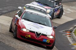 #186 Alfa Romeo 156: Jürg Hügli, Alfredo Saligari, Ivo Salvadori