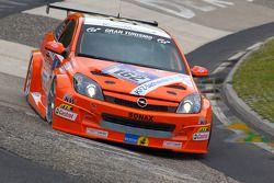 #162 Kissling Motorsport Opel Astra GTC: Heinz Otto Fritzsche, Jürgen Fritzsche, Hannu Luostarinen, Julius Nieminen